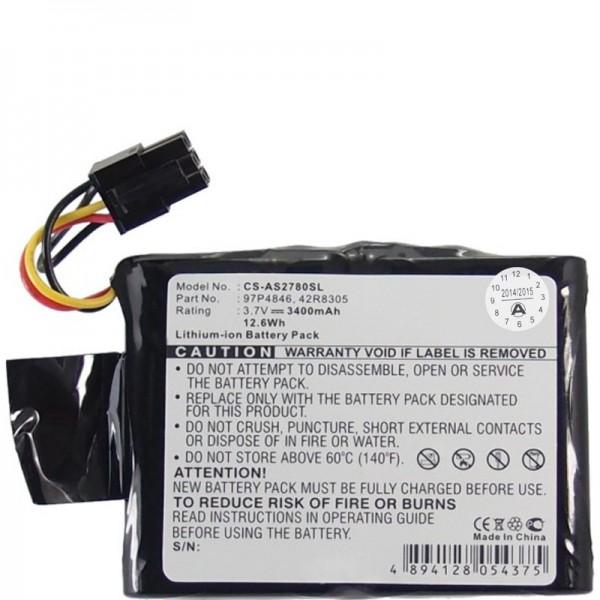 RAID-controllerbatterij geschikt voor IBM 39J5554, 42R8305, 97P4846, CGA-E / 212AE