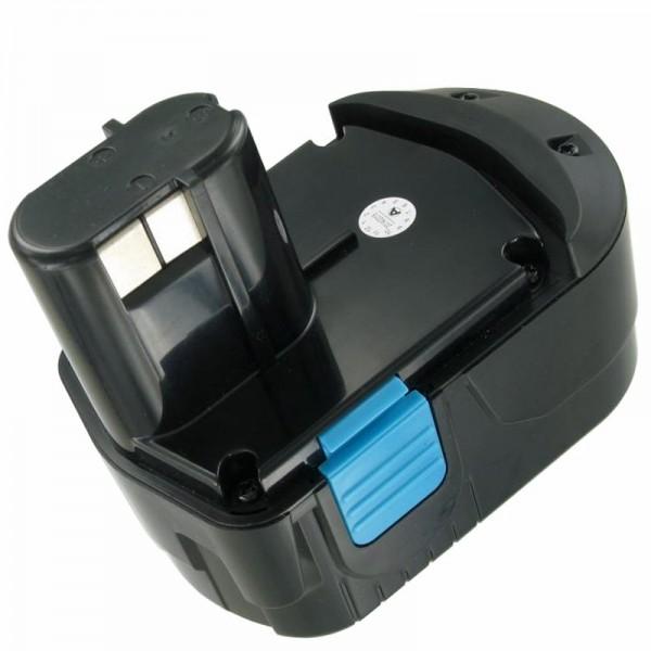 AccuCell-batterij geschikt voor Hitachi EB1826 HL 18 volt 3000 mAh