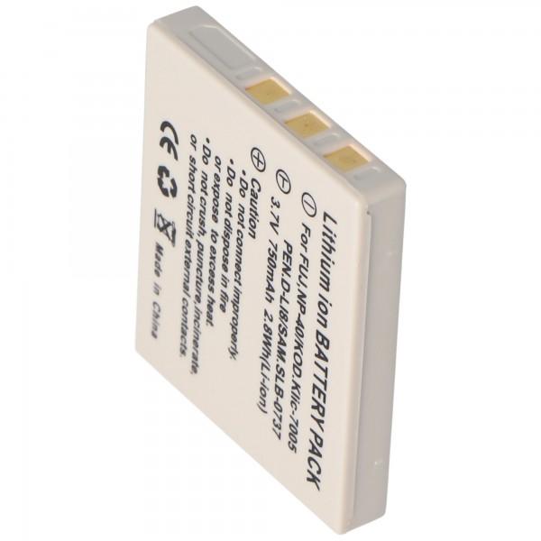 AccuCell-batterij geschikt voor Medion MD85416, NP40, 710mAh