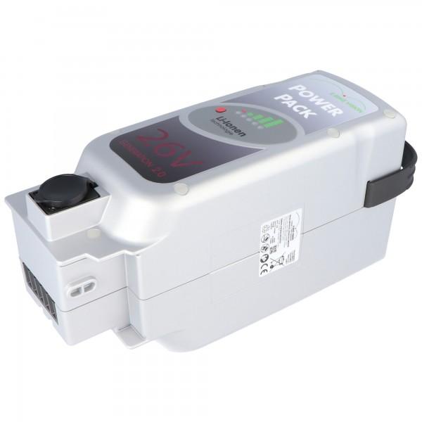 KTM Amparo 26 replica batterij geschikt voor de KTM Amparo 26 batterij, AMPARO 8M