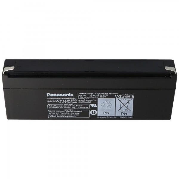 Panasonic LC-R122R2PD batterij LC-R122R2PG batterij 12 volt 2.2Ah