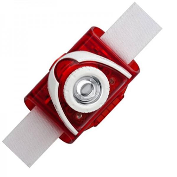 LED Lenser SEO 5 LED-koplamp rood inclusief batterijen