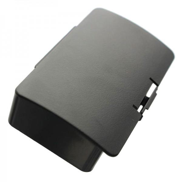 AccuCell-batterij geschikt voor Garmin GPSMAP 276, 1250mAh