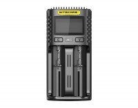 Nitecore UMS2 USB-snellader QC 2.0 compatibel voor Li-Ion-batterijen