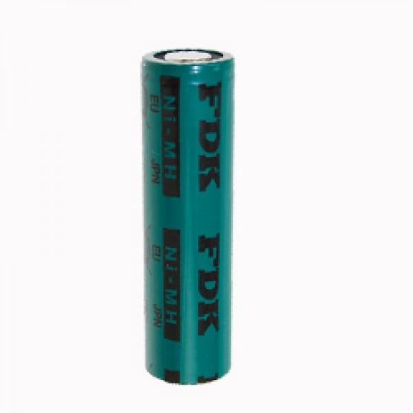Sanyo FDK NiMH-batterij met platte bovenkant 1.2V 1650mAh soldeertag U-FORM