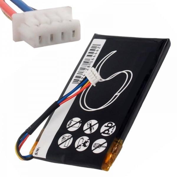 Navigon 8410 batterij Li-Polymer van AccuCell geschikt voor GC500