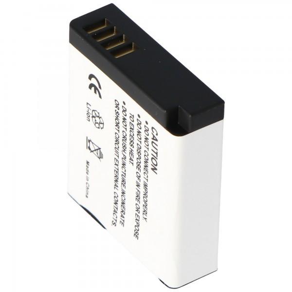 Panasonic DMW-BLH7 oplaadbare batterij van AccuCell geschikt voor Lumix DMC-GM1