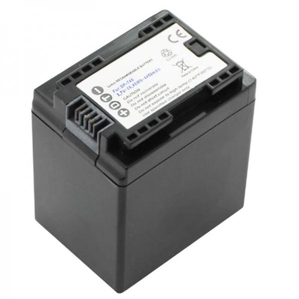 Canon BP-745 batterij van AccuCell geschikt voor Canon LEGRIA HF M52