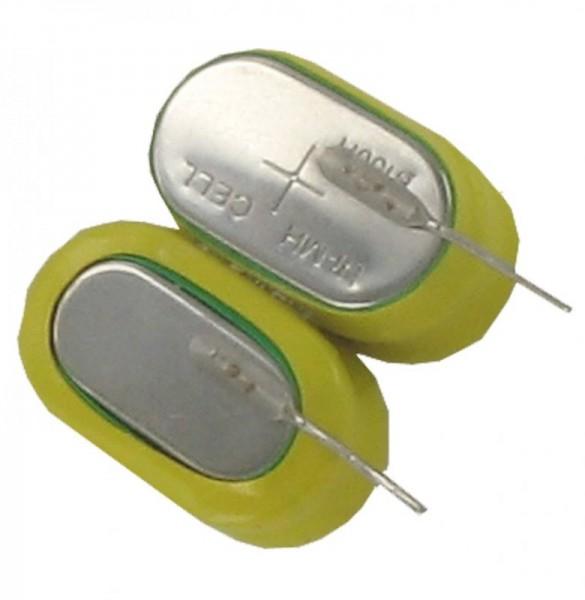 Low-cost X150H NiMH-batterijpakket 4,8 volt met soldeerpad