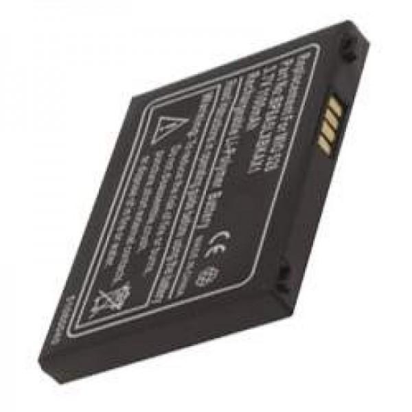 AccuCell-batterij geschikt voor Mitac Mio 528, P / N BP8A5LXBKAX1