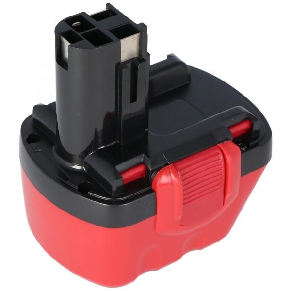 Accu geschikt voor Bosch GSR 12 VE-2, GSB 12 VE-2 NiMH batterij 2.0Ah