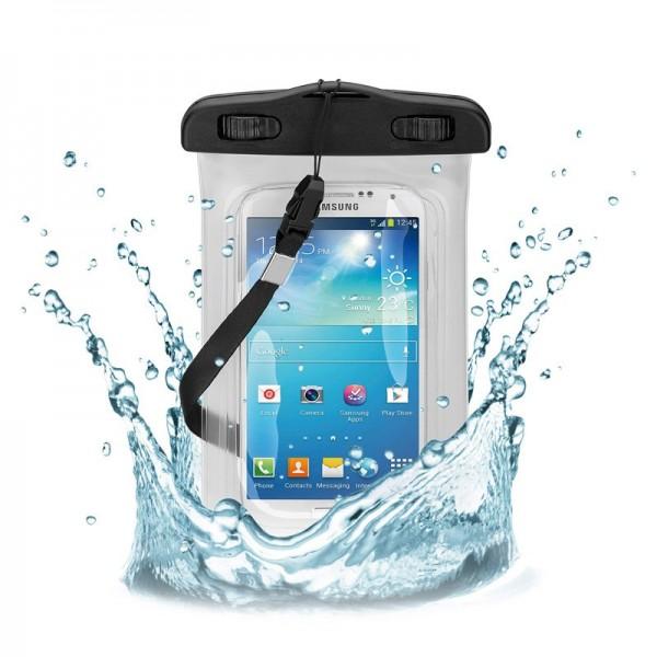 """Strandtas voor smartphones tot 5,5 """"de waterdichte en zandvrije opbergtas"""