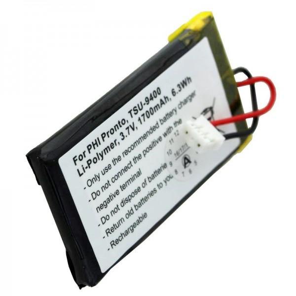 PHILIPS PRONTO TSU-9400 oplaadbare batterij van AccuCell