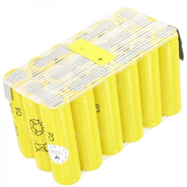 AccuCell-batterij geschikt voor ATS-deur, deuropening 21,6 volt en 900 mAh