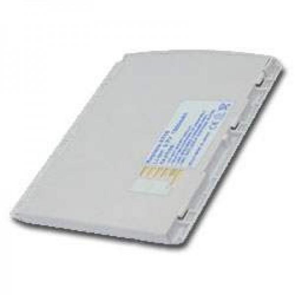 AccuCell-batterij geschikt voor Casio E-3073BAT, 1500 mAh zilver