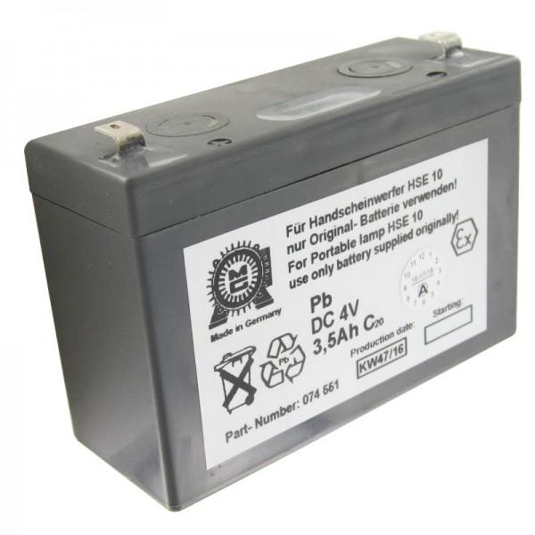 Eisemann HSE10-batterij origineel voor de Eisemann-handlamp (zonder EX-bescherming)