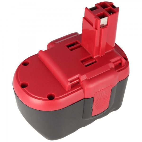Accu geschikt voor Bosch GSR 24VE-2, GBH 24V, 2607335268, 2.0Ah