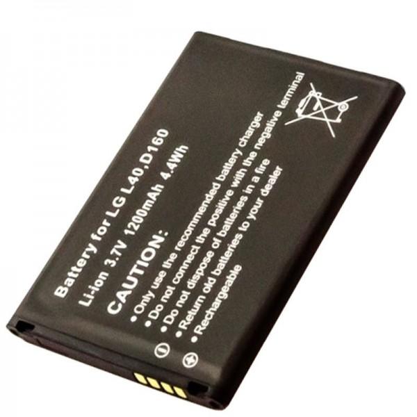 AccuCell-batterij geschikt voor LG L40-batterij, D160-batterij