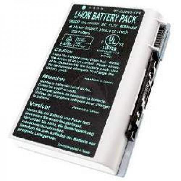 AccuCell-batterij voor Clevo D610, D620, D630, BAT-6120, 6000mAh