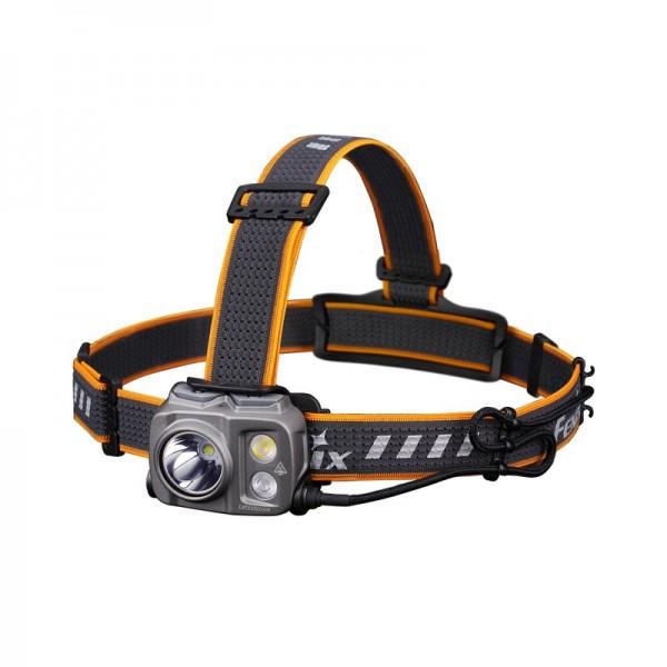 Fenix HP25R V2.0 LED hoofdlamp, 1.600 lumen, drie lichtbronnen, USB-C aansluiting, 60° draaimechanisme, inclusief ARB-L21-5000 accu
