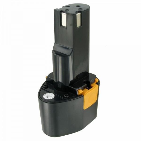 Batterij geschikt voor de Panasonic EY9080 batterij Panasonic EZ 571, NiMH 3Ah