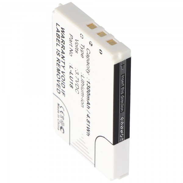 Batterij geschikt voor Logitech Harmony 1000, Harmony 1100, Squeezebox