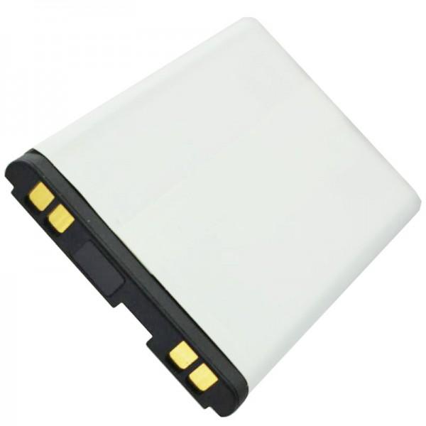 AccuCell-batterij geschikt voor LG B2050, LGTL-GBIP-830, 600mAh