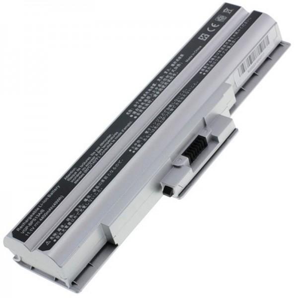 Batterij geschikt voor Sony VGP-BPS21, VGP-BPS21A 4400mAh zilver
