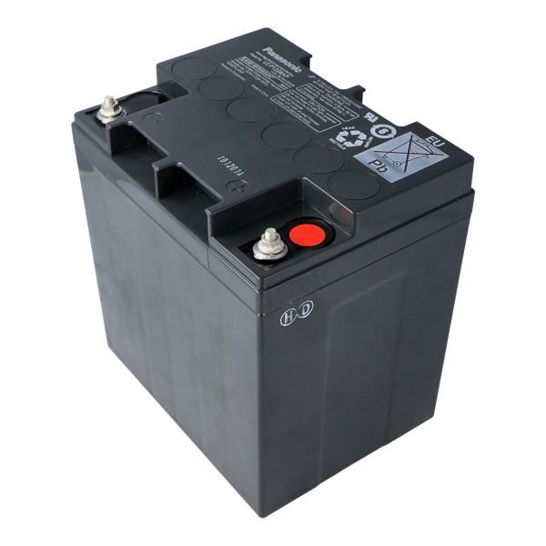 Panasonic LC-P1228AP 12 volt 28Ah M5 contact X1228, voorheen Panasonic LC-X1228AP batterij