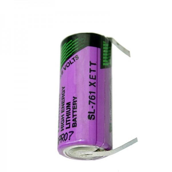 Sunshine anorganische lithiumbatterij SL761 / T met soldeertags