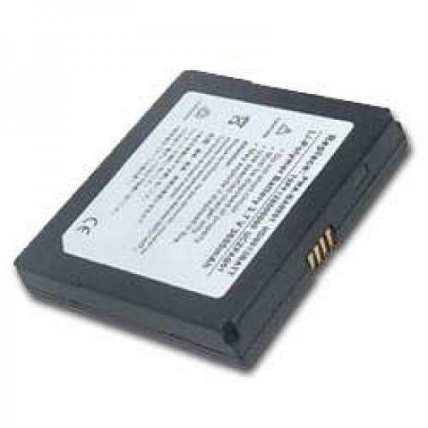 AccuCell-batterij geschikt voor Creative Zen Portable Media Center