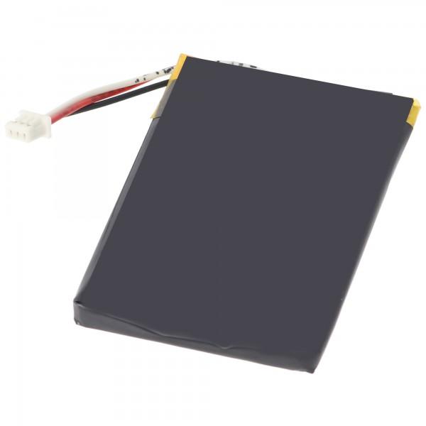 AccuCell-batterij geschikt voor navigatie Falk M2-batterij, M4, M6, M8 en 57181740068