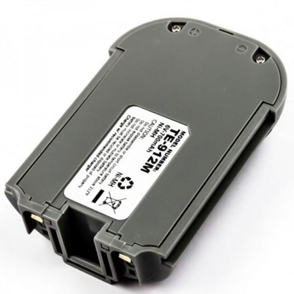 TELXON PTC 912DS oplaadbare NiMH-batterij van AccuCell