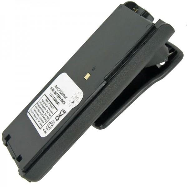 Batterij geschikt voor ICOM IC-F3GS, IC-F4GS, BP-209, BP-210