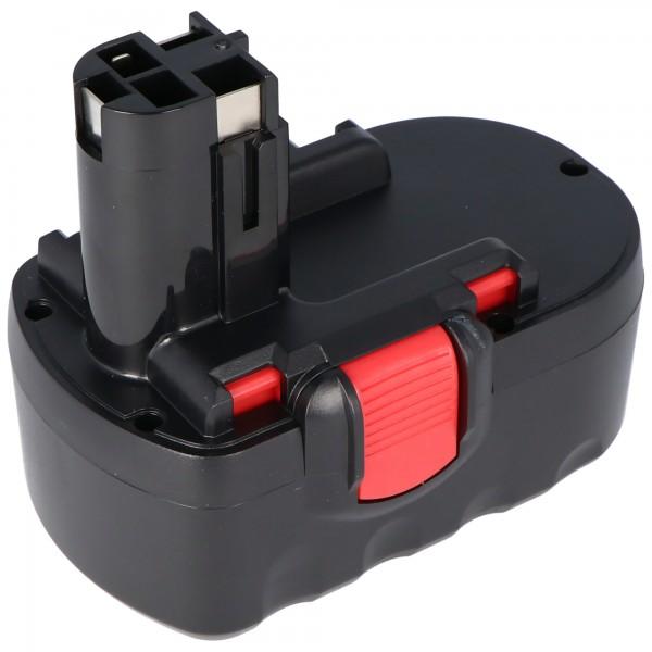 Batterij geschikt voor Bosch GSR 18VE-2, 2607335266, 2607335278, 1.4Ah