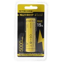 Nitecore 21700 Li-ionbatterij met 5000mAh NL2150HP met max. 15A ontlaadstroom
