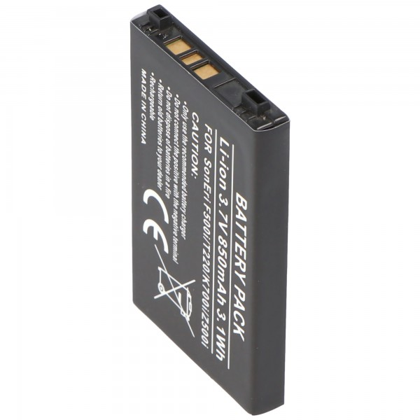 AccuCell-batterij voor Sony Ericsson J200i, T230, T226, K500
