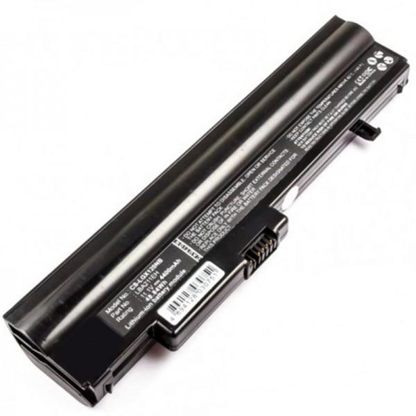 LG X120 batterij X130 als LB3211EE replica batterij van AccuCell 11,1 volt 4400mAh