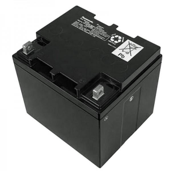 Panasonic LC-XC1238P batterij cyclus batterij 12 volt 38Ah