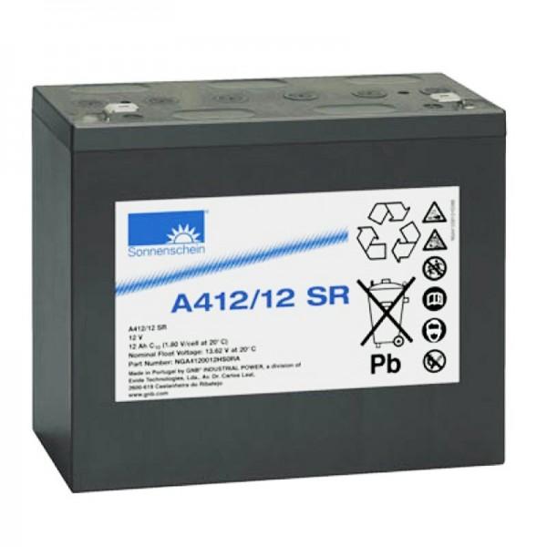 Sonnenschein Dryfit A412 / 12SR loodbatterij PB 12Volt 12Ah