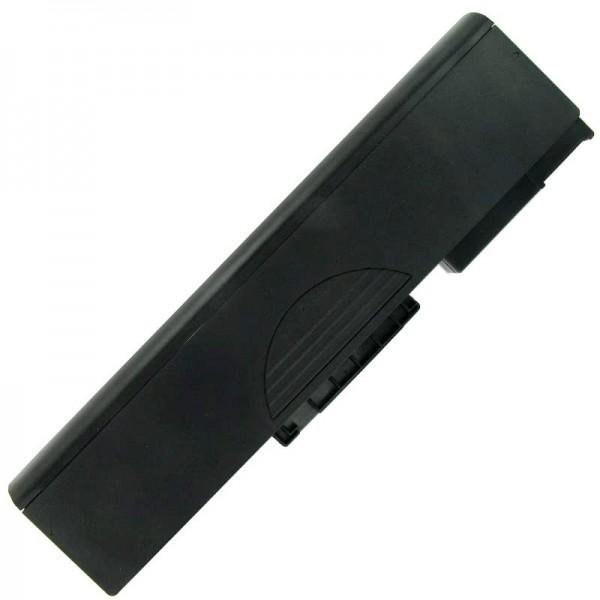 AccuCell-batterij geschikt voor Medion MD41300, BT-P77BM, 6600mAh