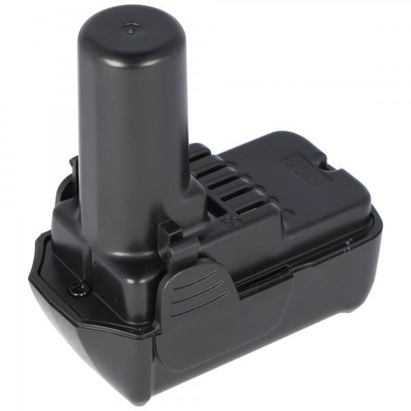 Accu geschikt voor de Hitachi BCL1015 batterij CR 10DL, CJ 10DL 10.8 volt Li-Ion batterij 1500mAh