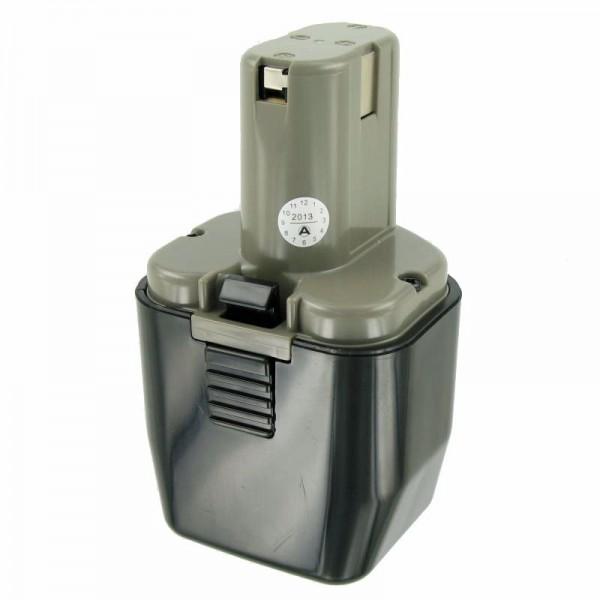 AccuCell-batterij geschikt voor Hitachi 12Volt 3.0Ah EB12B, EB12H