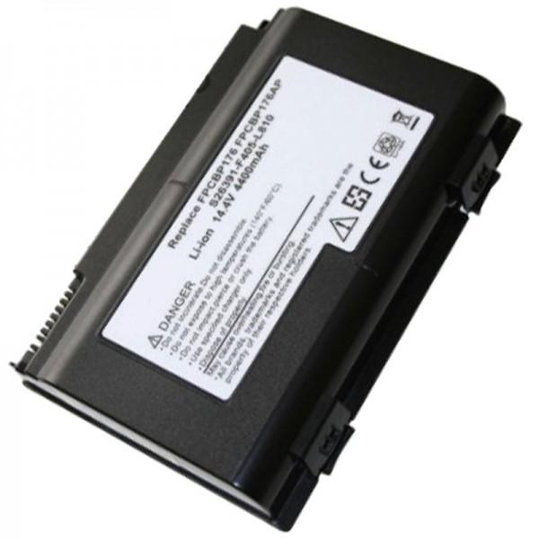 AccuCell-batterij geschikt voor Fujitsu-Siemens FPCBP175A, E8310