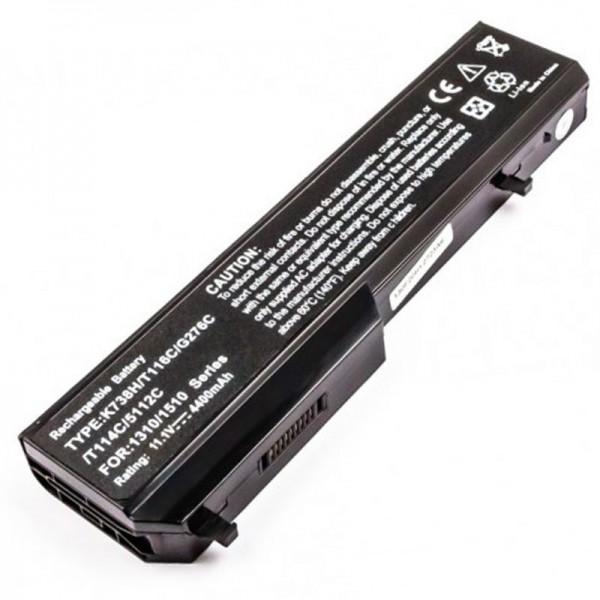 AccuCell-batterij geschikt voor Dell Vostro 1310, 1510, 1520, 2510
