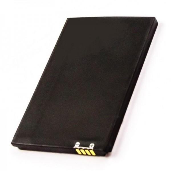 Batterij geschikt voor draadloze router Novatel MiFi 2352, 2372, VODAFONE MOBIELE W-LAN-SPOT