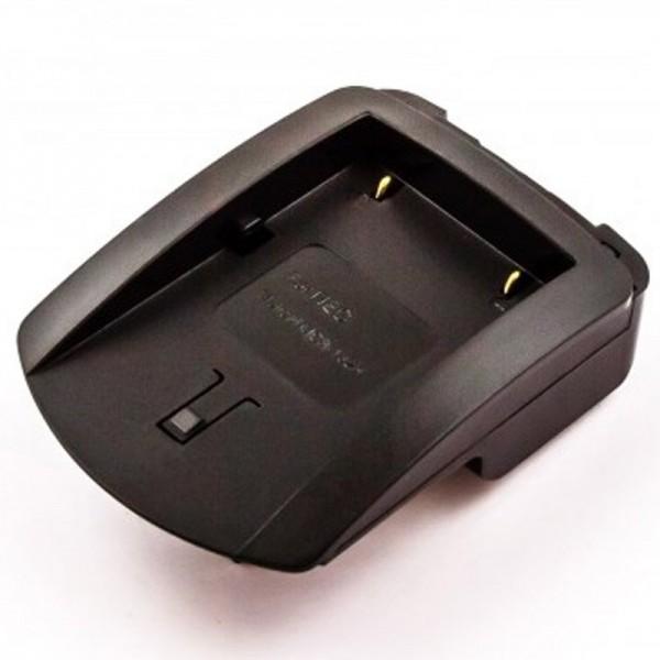 AccuCell oplaadstation geschikt voor de Pentax EI-D-Li1 batterij, HP PhotoSmart C912