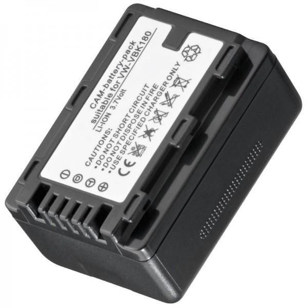 AccuCell-batterij geschikt voor VW-VBK180, VBK360 geen originele batterij