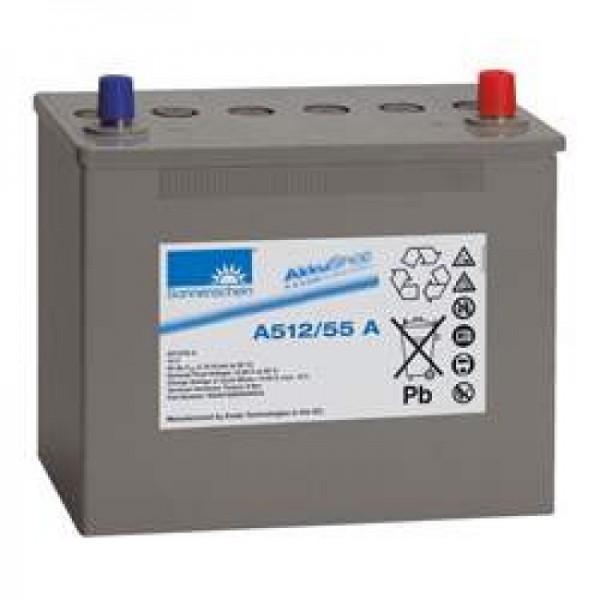 Sonnenschein Dryfit A512 / 55A loodbatterij, A-aansluiting