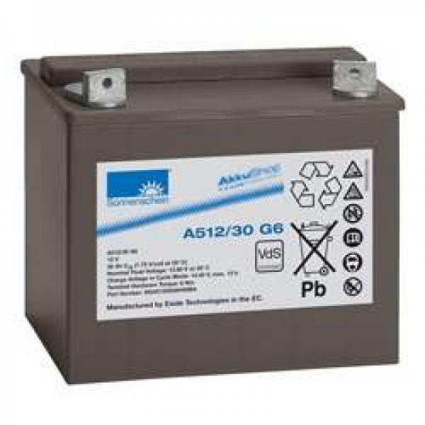 Sonnenschein Dryfit A512 / 30G6 loodbatterij, VDS G196025